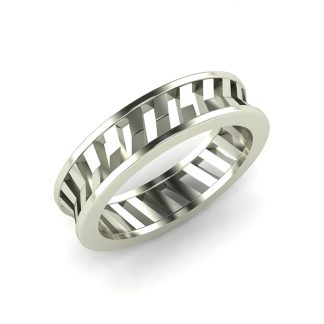 Ultralight Mens Platinum Wedding Band