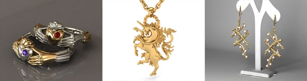 fully bespoke jewellery design