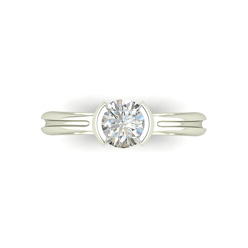 Crux Engagement Ring top view