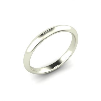 Edge Knife Edge Ladies Wedding Ring