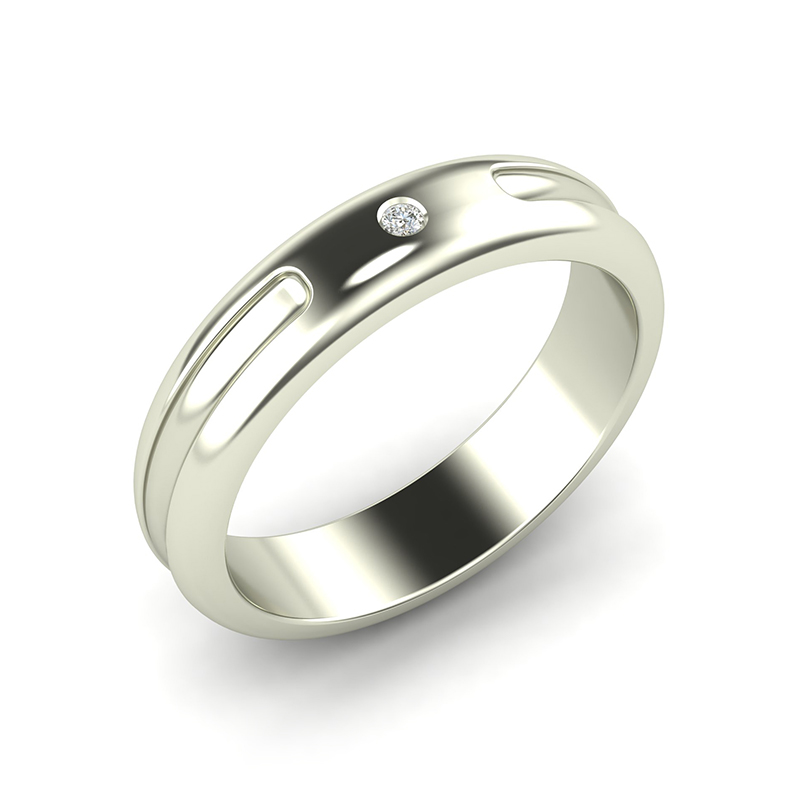 Crux men's gypsy set wedding band